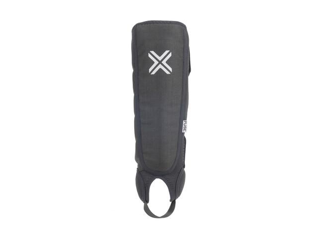 FUSE Alpha Shin/Whip/Ankle Pads Kids, black/white